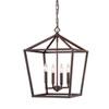 This item: Kenwood Rubbed Bronze Four-Light Lantern Pendant