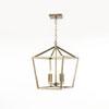 This item: Kenwood Vintage Gold Four-Light Lantern Pendant