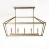 This item: Kenwood Vintage Gold Five-Light Linear Pendant