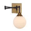 This item: Nicollet Oiled Rubbed Bronze 13-Inch One-Light Wall Sconce