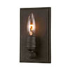 This item: River Station Textured Bronze One-Light Wall Sconce