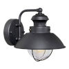 This item: Knox Textured Black Nine-Inch One-Light Outdoor Wall Mount