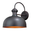 This item: Knox Oil Burnished Bronze One-Light Outdoor Wall Mount