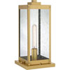 This item: Pax Antique Brass One-Light Outdoor Pier Base with Seedy Glass