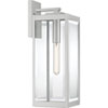 This item: Pax Stainless Steel 20-Inch One-Light Outdoor Lantern with Beveled Glass