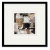 This item: Ethno II 20 x 20 Inch Framed Wall Art
