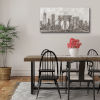 This item: Charcoal Brooklyn Bridge I 24 In. x 48 In. Gallery Wrapped Canvas