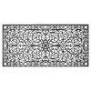 This item: Gatsby Black 36 x 72 Inch Doormat
