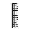 This item: Scala Black Three-Light LED Outdoor Sconce