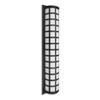 This item: Scala Black Three-Light Outdoor Sconce