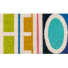 This item: Aloha Hello Multicolor Rectangular: 1 Ft. 6 In. x 2 Ft. 6 In. Rug