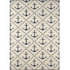 This item: Baja Ivory Anchor Rectangular: 2 Ft. 3 In. x 4 Ft. 6 In. Rug