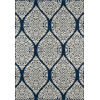 This item: Baja Arabesque Navy Rectangular: 1 Ft. 8 In. x 3 Ft. 7 In. Rug