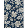 This item: Baja Floral Blooms Navy Rectangular: 8 Ft. 6 In. x 13 Ft. Rug