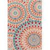 This item: Baja Mosaic Multicolor Rectangular: 5 Ft. 3 In. x 7 Ft. 6 In. Rug