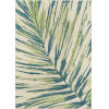 This item: Baja Palm Leaf Green Rectangular: 5 Ft. 3 In. x 7 Ft. 6 In. Rug
