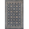 This item: Banaras Blue Rectangular: 5 Ft. 6 In. x 8 Ft. 6 In. Rug