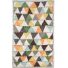 This item: Bungalow Tri Multicolor Rectangular: 3 Ft. 6 In. x 5 Ft. 6 In. Rug