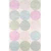 This item: Delmar Agatha Dots Multicolor Rectangular: 8 Ft. x 10 Ft. Rug