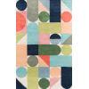 This item: Delmar Wright Multicolor Rectangular: 8 Ft. x 10 Ft. Rug