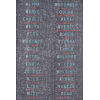 This item: District Charcoal Rectangular: 3 Ft. 3 In. x 5 Ft. Rug