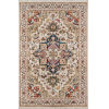 This item: Lenox Medallion Ivory Rectangular: 7 Ft. 6 In. x 9 Ft. 6 In. Rug