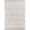 This item: Lima Moroccan Shag Ivory Rectangular: 7 Ft. 10 In. x 9 Ft. 10 In. Rug