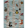 This item: Lil Mo Whimsy Woodland Creatures Light Blue Rectangular: 2 Ft. x 3 Ft. Rug