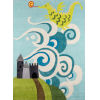 This item: Lil Mo Whimsy Fairytale Dragon Sky Rectangular: 2 Ft. x 3 Ft. Rug