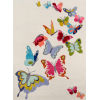 This item: Lil Mo Whimsy Butterfly Flutter Ivory Rectangular: 5 Ft. x 7 Ft. Rug