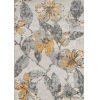 This item: Luxe Floral Gray Rectangular: 9 Ft. 3 In. x 12 Ft. 6 In. Rug