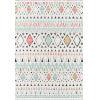 This item: Monaco Moroccan Multicolor Rectangular: 2 Ft. x 3 Ft. Rug