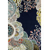 This item: New Wave Floral Navy Rectangular: 5 Ft. 3 In. x 8 Ft. Rug