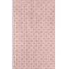 This item: Palm Beach Via Mizner Pink Rectangular: 7 Ft. 6 In. x 9 Ft. 6 In. Rug