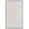 This item: Thompson Langley Gray Rectangular: 3 Ft. 6 In. x 5 Ft. 6 In. Rug