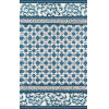 This item: Under A Loggia Navy Rectangular: 2 Ft. x 3 Ft. Rug