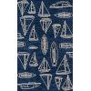This item: Veranda Novelty Navy Rectangular: 8 Ft. x 10 Ft. Rug