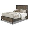 This item: Jaxson Charcoal Poplar Oak and Metal King Bed