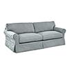 This item: Olivia Spa Blue  Down Blend Slipcovered Sofa