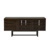 This item: Andrew Walnut and Dark brown TV Stand Cabinet
