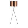 This item: Cara Copper and Black Tripod Floor Lamp