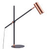 This item: Penombra Copper and Black Table Lamp