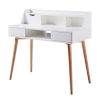 This item: Creativo White and Natural Desk