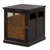 This item: Digger Dark Espresso Dog Crate with Metal Floral Design