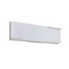 This item: Vibe Brushed Polished Nickel 17-Inch LED Vanity