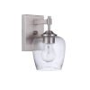 This item: Stellen Brushed Polished Nickel One-Light Wall Sconce