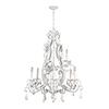This item: Englewood Gloss White Nine-Light Chandelier
