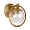 This item: Piltz Satin Brass 10-Inch One-Light Bath Vanity