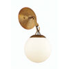 This item: Orion Patina Aged Brass 6-Inch One-Light Wall Sconce