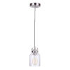 This item: Foxwood Brushed Polished Nickel One-Light Mini Pendant